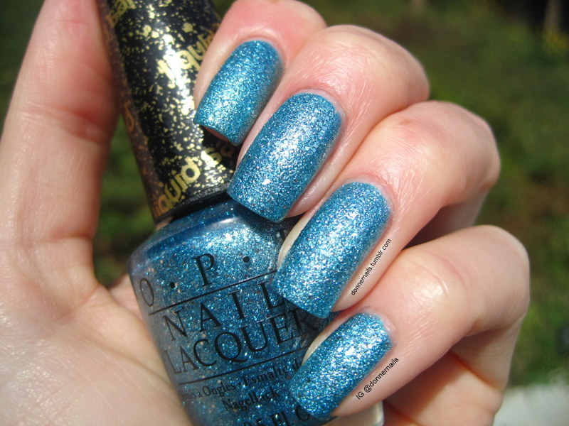 OPI Tiffany Case Swatch by Donner
