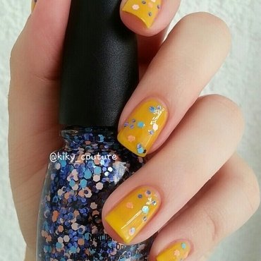 China Glaze Glitter up Swatch by Ximena Echenique
