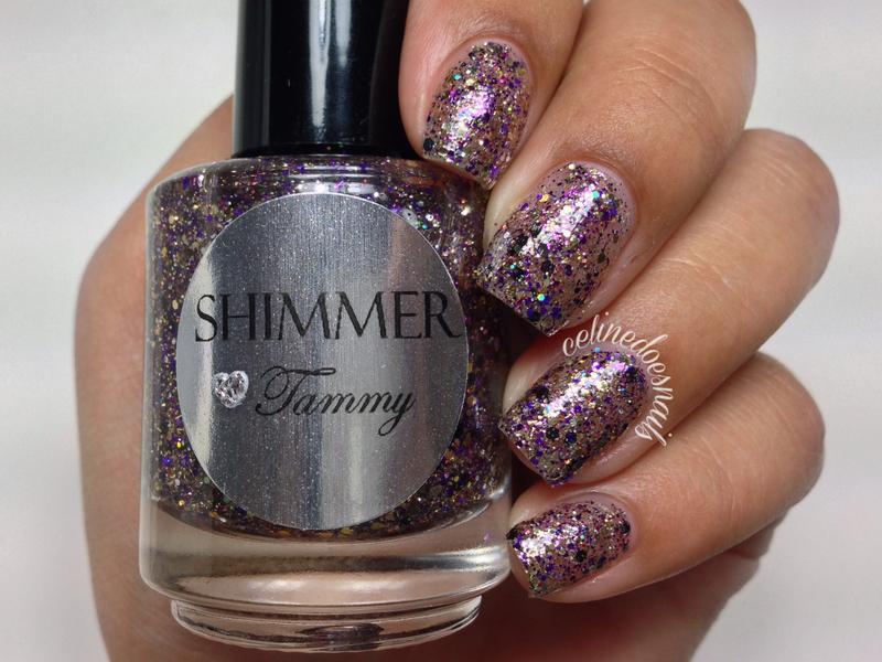 Shimmer Polish Tammy Swatch by Celine Peña