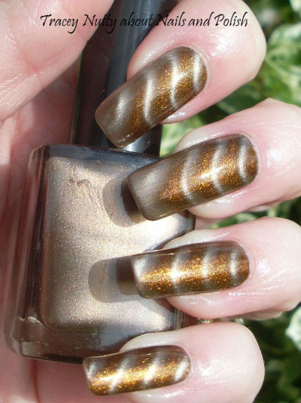 Pink Bunny Gold Chocolate Swatch by Tracey - Bite no more