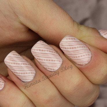 Nude Elegance nail art by Hinata
