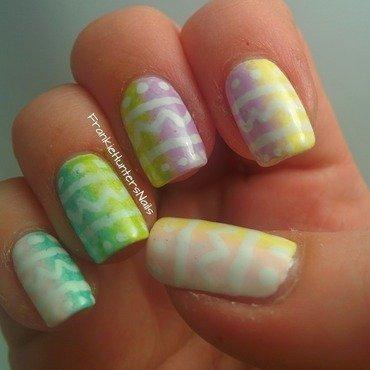 Easter Nails 2014 nail art by Franziska FrankieHuntersNails