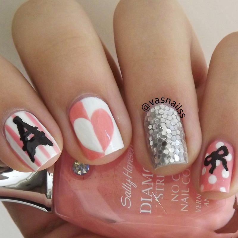 Paris Nail Art By Vanesa Nailpolis Museum Of Nail Art