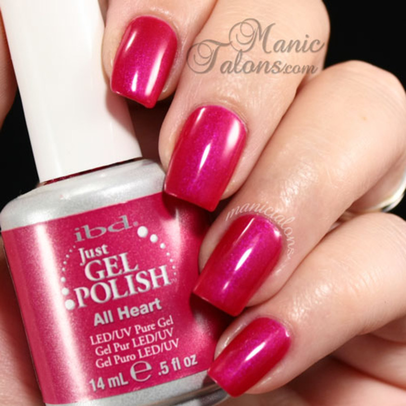 IBD Just Gel All Heart Swatch by ManicTalons