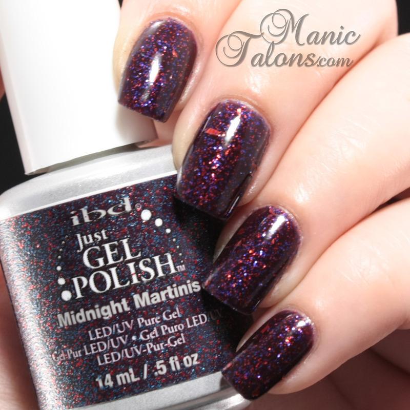 IBD Just Gel Midnight Martinis Swatch by ManicTalons - Nailpolis ...