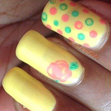 Spring nail art by Roni