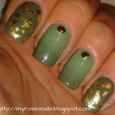 Military mix nail art by Ewa