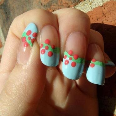 Spring Flowers nail art by Toria Mason