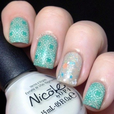 A Bit of Boho nail art by Nail Polish Wars