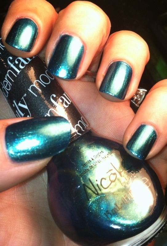 Opi modern family Candid Cameron Swatch by April Dolan