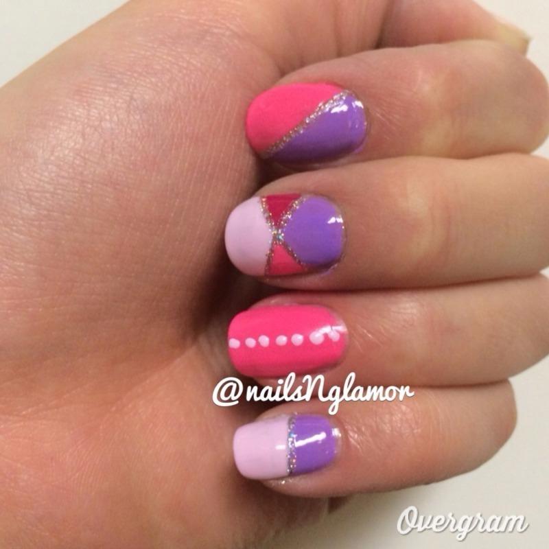 Princess Dreams!  nail art by Svetlana Tsad