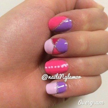 Princess Dreams!  nail art by Svetlana Tsad