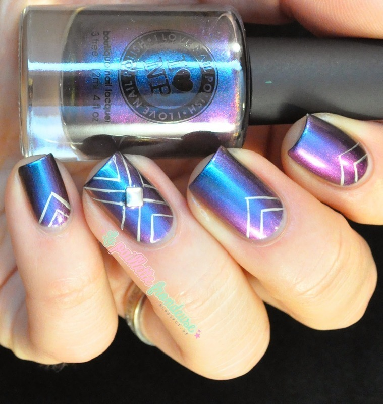 amazing multichrome nail art by nathalie lapaillettefrondeuse