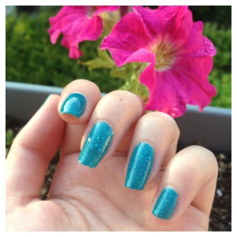 piCture pOlish Lagoon Swatch by Dju Nails