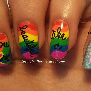 Rainbow nails thumb370f