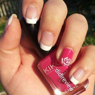 franch rose nail art nail art by Didi didireview
