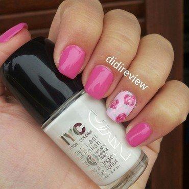 i love pink ♥  nail art by Didi didireview