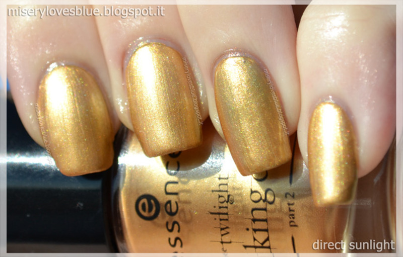 Essence A piece of forever Swatch by MiseryLovesBlue
