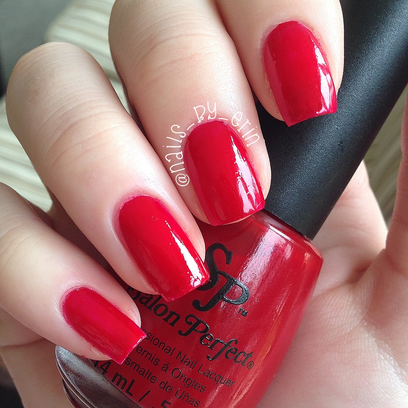 Salon Perfect Paint the Town Red Swatch by Erin