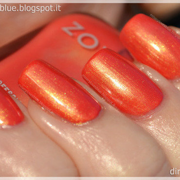 Zoya Gwin Swatch by MiseryLovesBlue