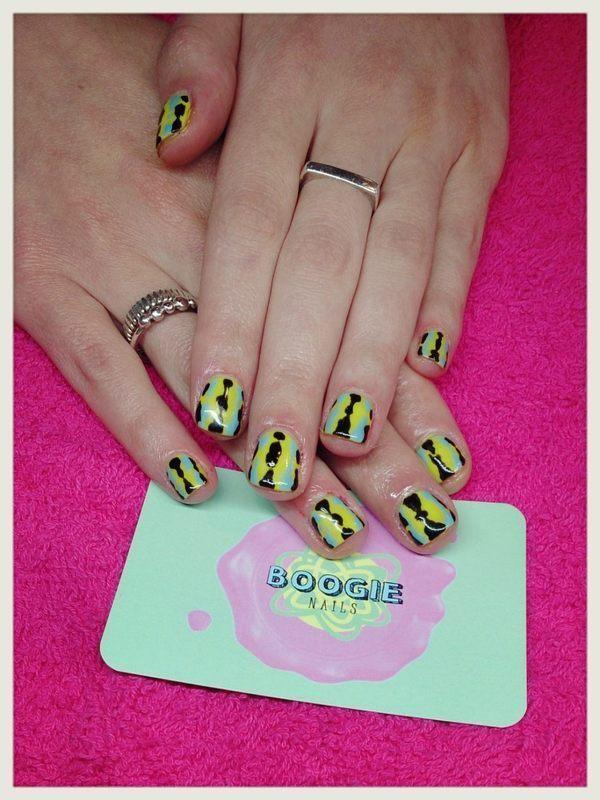 Wah Nails Style nail art by BoogieNails