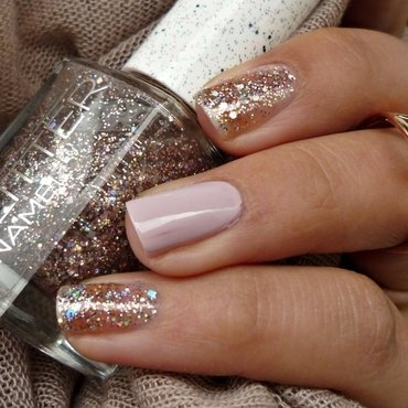 Gabriella Salvete 05 Di Miele and Max Factor 30 Chilled Lilac Swatch by Romana