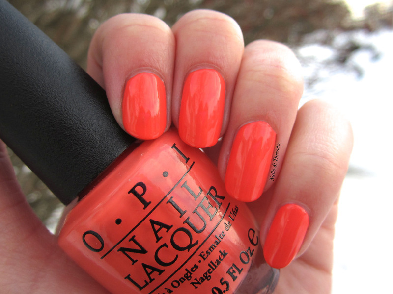 OPI Toucan Do It If You Try Swatch by Nails & Threads