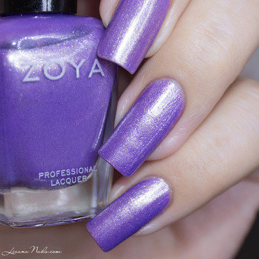 Zoya Hudson Swatch by Lizana Nails