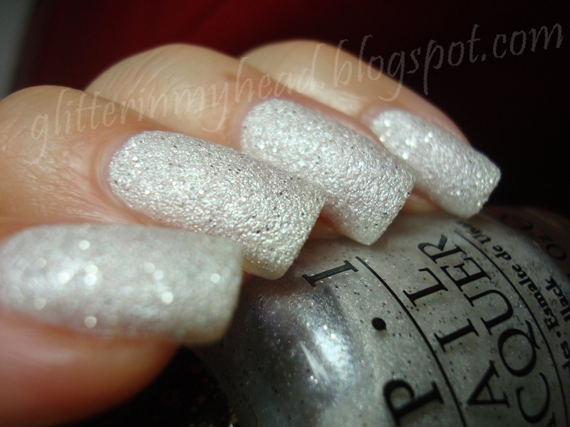 OPI Solitaire Swatch by The Wonderful Pinkness