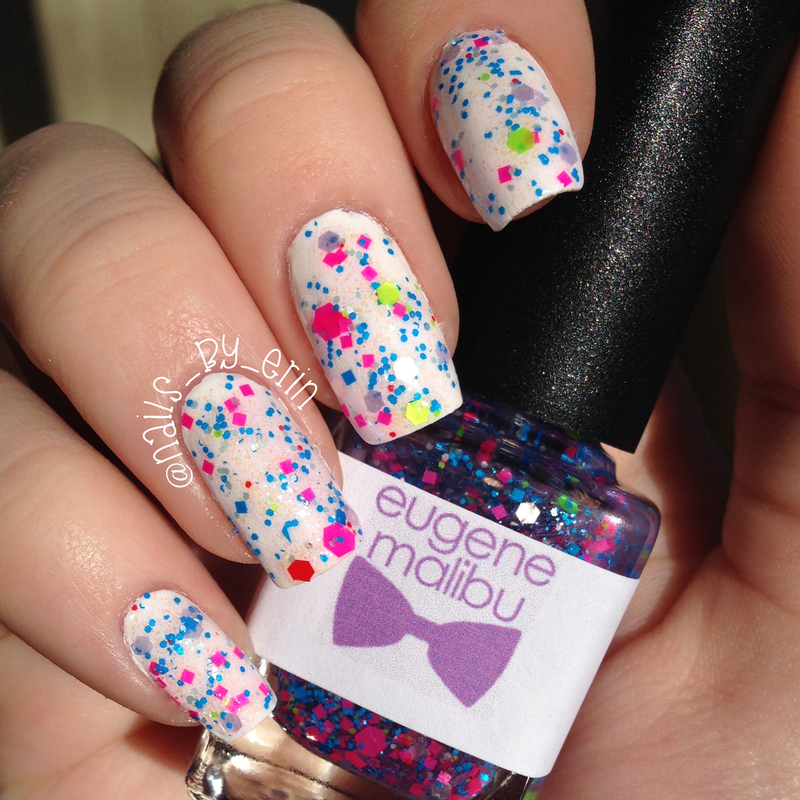 Eugene Malibu Electric Daisy Swatch by Erin