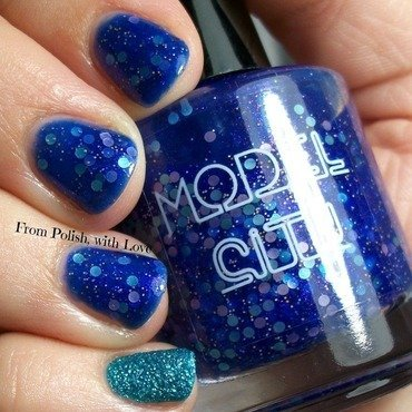 Model city april showers china glaze seahorsin  around thumb370f