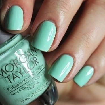 Morgan Taylor Mint Chocolate Chip Swatch by Amethyst