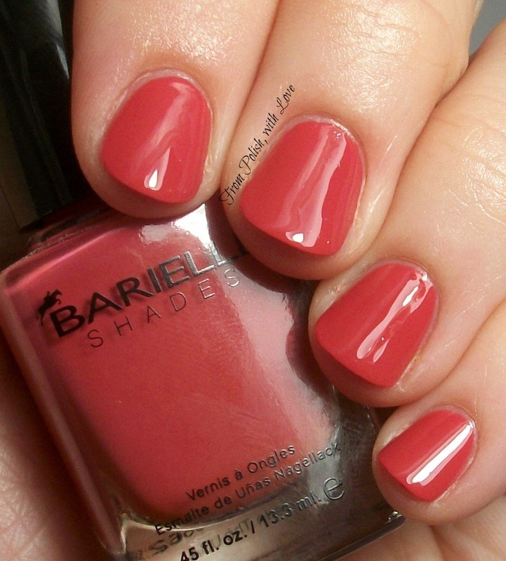 Barielle A Little Exotic Swatch by Dani