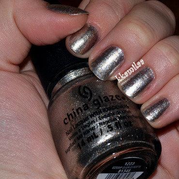China Glaze Gossip Over Gimlets Swatch by Kamila