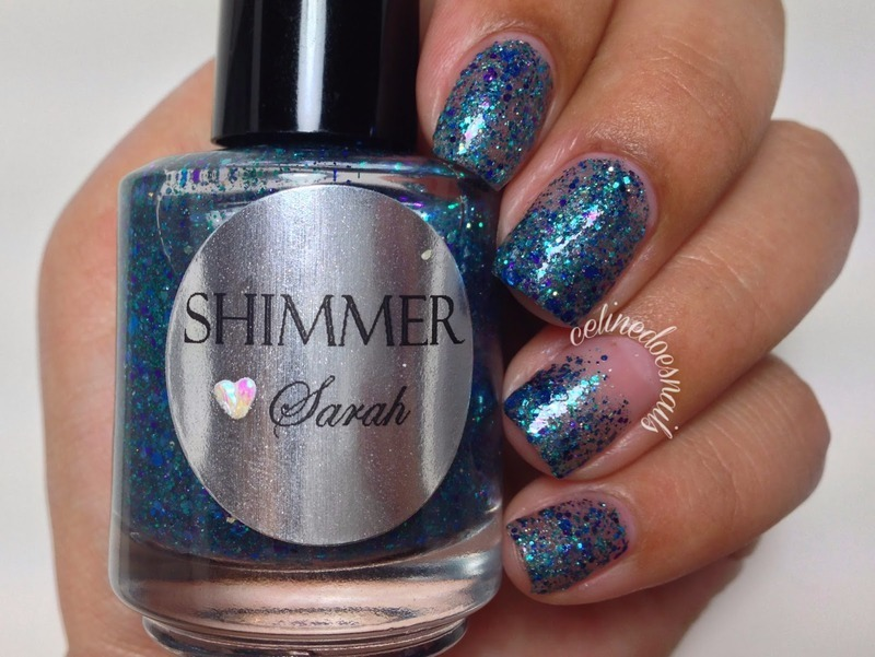 Shimmer Polish Sarah Swatch by Celine Peña