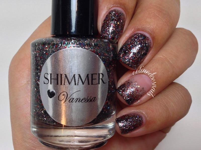 Shimmer Polish Vanessa Swatch by Celine Peña