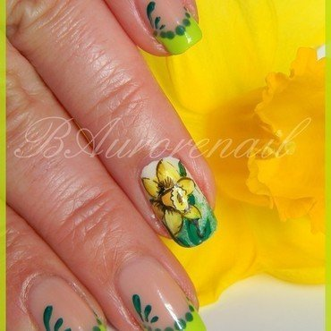 Nail art jonquille 10 thumb370f