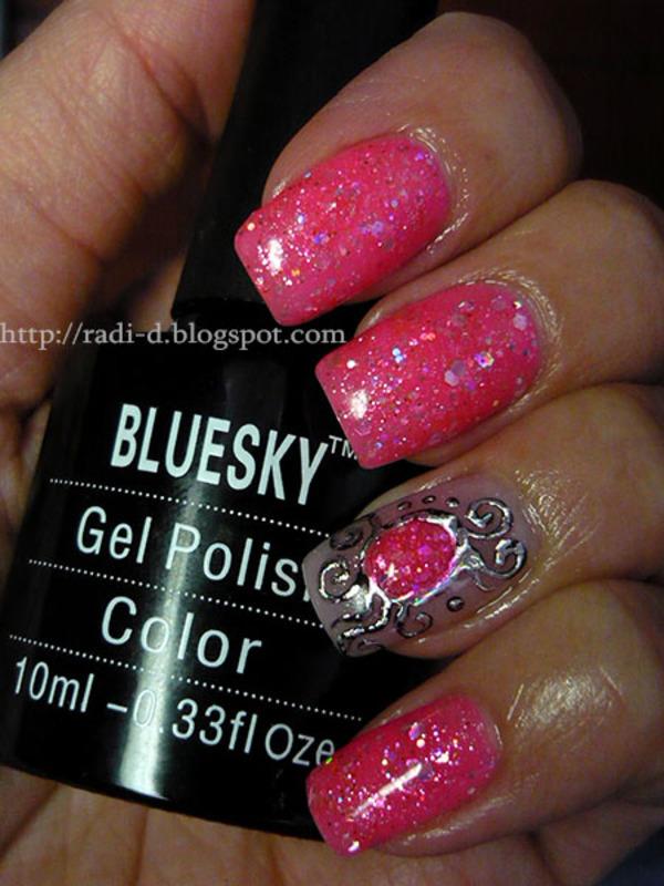 Bluesky Gel Polish BLZ04 Swatch By Radi Dimitrova