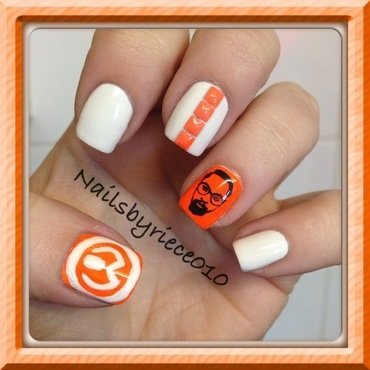 will.i.am nail art by Riece