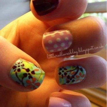 This Morning Inspired Nails nail art by Kimberley