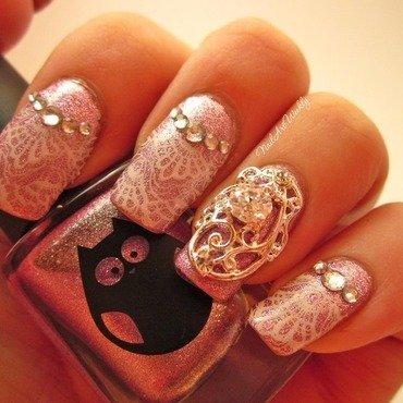 I DO! nail art by Karolyn
