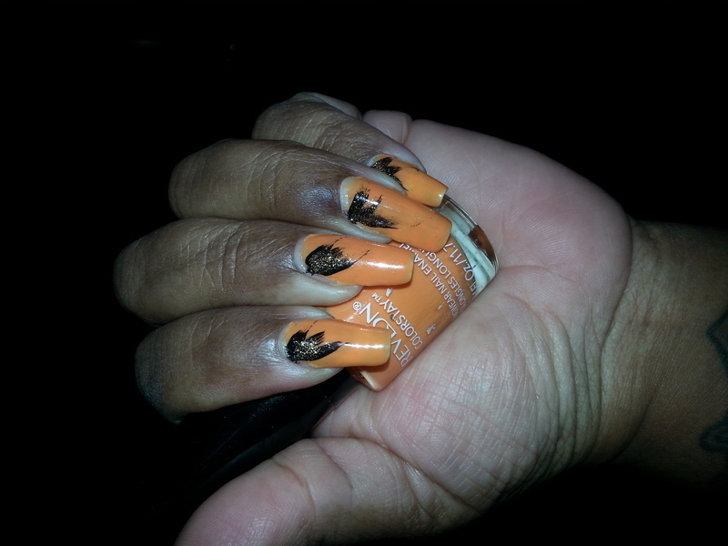 birds of a feather nail art by LisaB