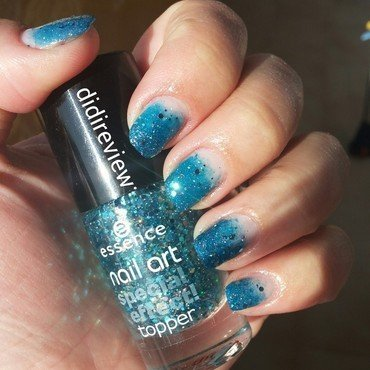 blue sea ♥ nail art by Didi didireview