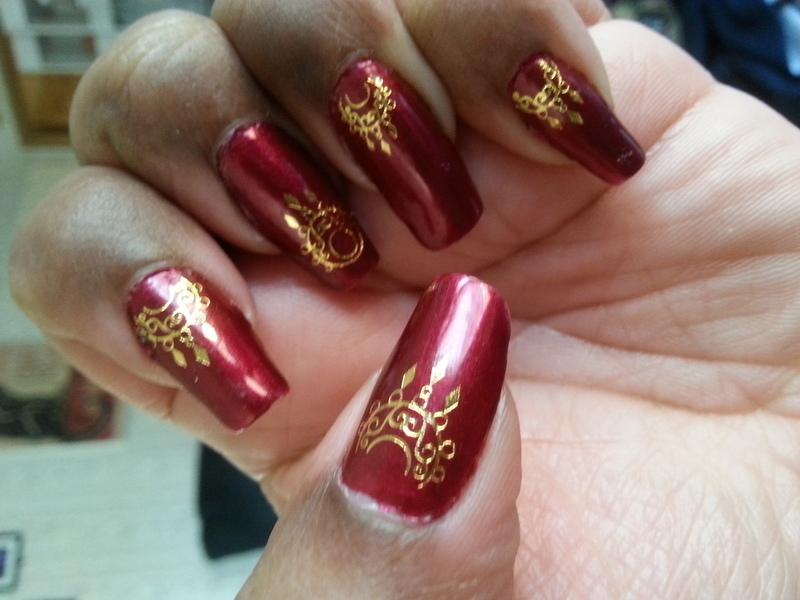 Royal nail art by LisaB