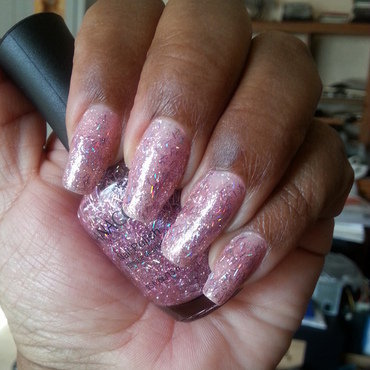 Gia Color Pink Twinkle Swatch by LisaB