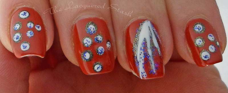 Dotting Fun nail art by Emma N.