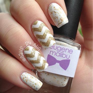 Coachella chevron nail art thumb370f