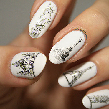 Black and white nails american apparel sketch architecture moscow paris new york sevastopol pisa 2 1 thumb370f