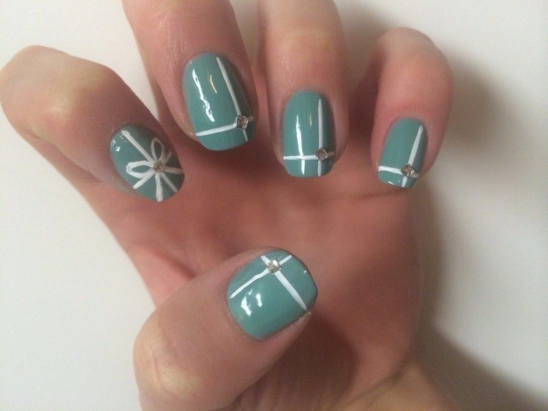 Tiffany Co Inspired Nail Art By Svetlana Tsad Nailpolis Museum