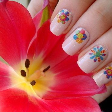 Kwiatkowe naklejki thumb370f